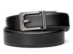 Kore Essentials X3 Buckle Black Leather Gun Belt