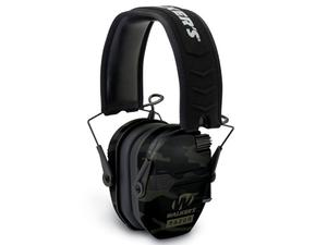 Walker's Razor Slim Electronic Ear Muffs, Multicam Black
