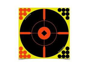 "Birchwood Casey Shoot-N-C 8"" BMW Bulls-Eye, 50 Pack"
