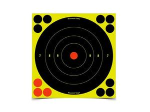 "Birchwood Casey Shoot-N-C 8"" Bulls-Eye, 30 Pack"