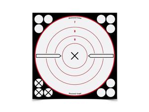 "Birchwood Casey Shoot-N-C 8"" Black & White Bulls-Eye, 6 Pack"