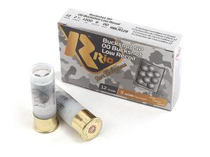 "Rio Ammo 12GA Buckshot 2 3/4"" 00 Shot Low Recoil 5rds"