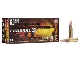 Federal Fusion MSR 6.8mm SPC 90gr SP 20rd