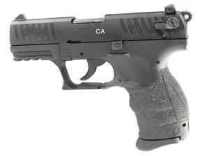 "Walther Arms P22 22LR 3.4"" Black CA - REFURB"