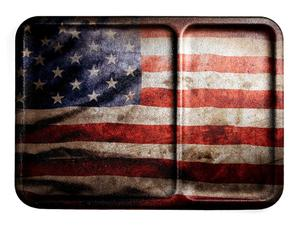 Mission First Tactical American Flag Vintage Dump Tray
