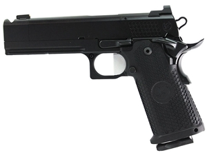 "Nighthawk Custom TRS Comp IOS 9mm 5"" Double Stack Black Pistol"