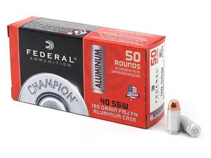 Federal Champion Aluminum .40S&W 180gr 50rd