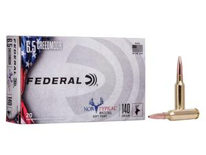 Federal 6.5 Creedmoor 140gr Soft Point Non Typical Whitetail 20rd