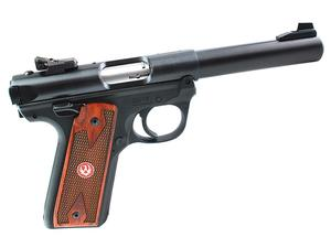 "Ruger Mark IV 22/45 5.5"" .22LR Pistol, Blued"