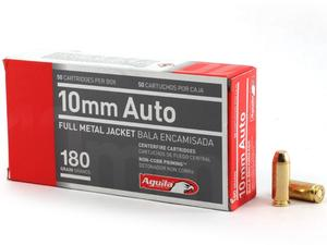Aguila 10mm 180gr FMJ 50rd