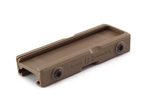 Cloud Defensive LCS Picatinny Mount Polymer, Pro-Tac, FDE