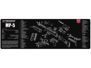 TekMat HK MP5 Gun Cleaning Mat