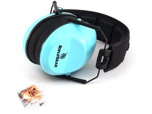 RifleGear VG90 Series Earmuff NRR 22dB - Powder Blue
