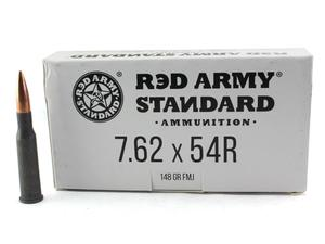 Red Army Standard 7.62x54R 148gr FMJ Steel Cased 20rd