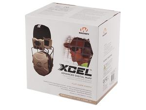 Walker's Xcel FDE Electronic Ear Muffs w/ Voice Clarity
