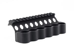 Mesa Tactical SureShell Carrier and Rail for Benelli M4 (6-Shell, 12-GA)