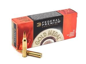 Federal GM223M 223 Rem 77gr Gold Medal Match 20rd/Box