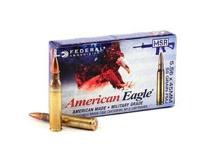 Federal 5.56mm XM193 55gr FMJ Lake City 20rd