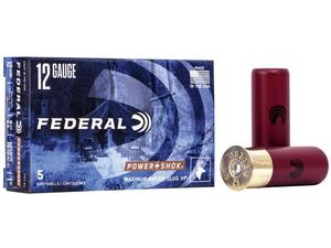 "Federal Power Shok 12ga 2-3/4"" 1oz HP 5rd"