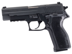 Sig Sauer P226 9mm Black Nitron on California Roster