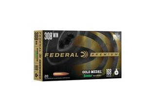 Federal Gold Medal Match .308 168gr SMK BTHP 20rd