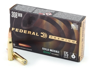 Federal Gold Medal Match .308 175gr SMK BTHP 20rd
