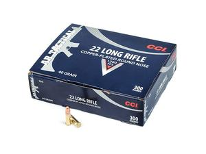 Federal CCI Tactical 22 LR 40gr 300rd