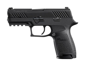Sig Sauer P320 Compact 9mm Black Nitron Contrast Sights