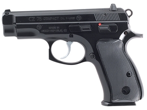 CZ 75 Compact 9mm Black Polycoat 15+1 91190