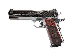Sig Sauer 1911 .45ACP Silver Engraved Texas Edition