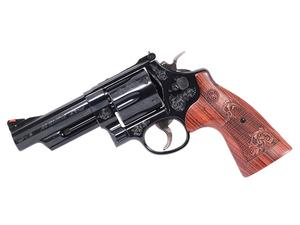 S&W Model 29 .44 Mag BL/WD Machine Engraved