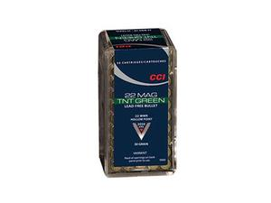 Federal CCI .22 WinMag TNT Green HP 30gr 50rd