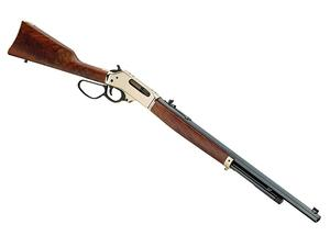 "Henry .45-70 Brass 22"" Large Loop BL/WD"