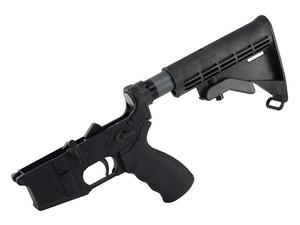 LMT Defender Lower with Collapsing Stock and Standard Trigger
