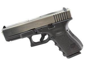 Glock 19 Gen3 Nickel Boron Battle Worn