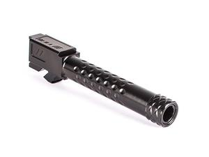 Zev Match Barrel Glk 19 Dimpled Threaded Black DLC