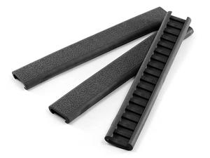 Ergo Textured Slim Line Rail Cover 3pk