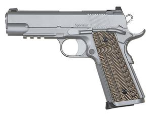 Dan Wesson Specialist Commander Stainless .45ACP Pistol