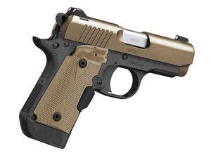 Kimber Micro 9 Desert Tan Laser Grips 9mm Pistol