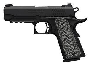 Browning Black Label 1911-380 PRO w/ Rail & NS .380 3.625""