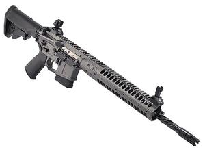 "LWRC IC-SPR 5.56 16"" Rifle Tungsten Gray - Factory CA"