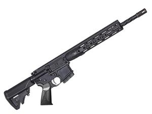 "LWRC DI Black 5.56mm 16"" Rifle MLok - CA"