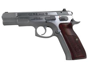 CZ 75B Matte Stainless w/ CocoBolo Grips 9mm Pistol