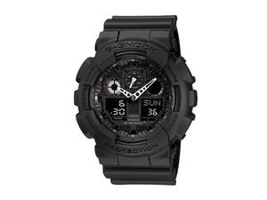 Casio G-Shock Military Black Ana-Digi GA100-1A1