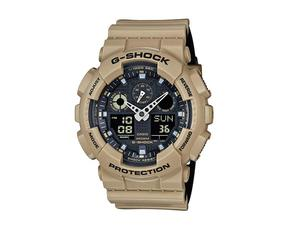 Casio G-Shock Military Tan Ana-Digi GA100L-8A