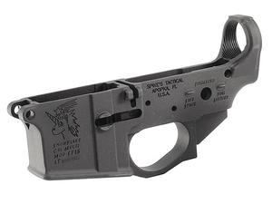 Spike's Tactical Snowflake Stripped Lower No Colorfill
