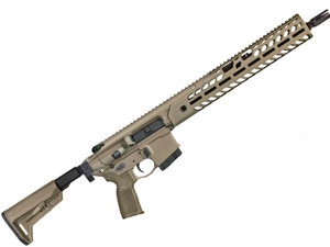 "Sig Sauer MCX Virtus 300BLK 16"" Telescoping/Folding Stock - FDE - CA"