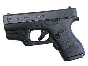 Glock 42 w/ Crimson Trace Laserguard and DeSantis Pocket Holster