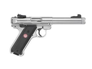 "Ruger Mark IV Target 5.5"" Stainless TB"
