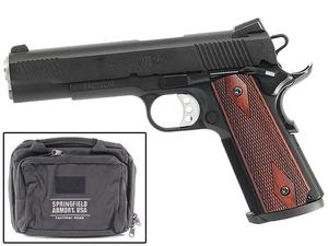 Springfield 1911-A1 .45 TRP Black Armory Kote 18 Package - CA